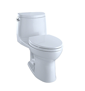 best Toto Ultramax II flushing toilet
