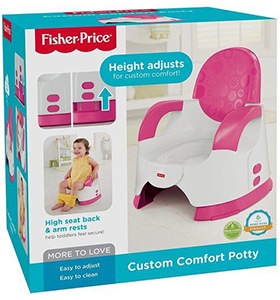 best fisher price custom toddler potty