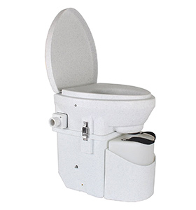 best natures nead self contained composting rv toilet