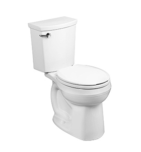 best american standard h2Optimum siphonic toilet for small bathroom