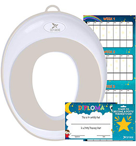 Cozy Greens Potty Training kids toilet seat