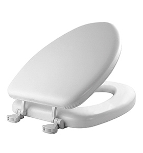 best soft padded foam toilet seat material