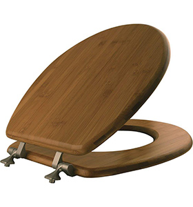 best mayfair solid wood toilet seat material